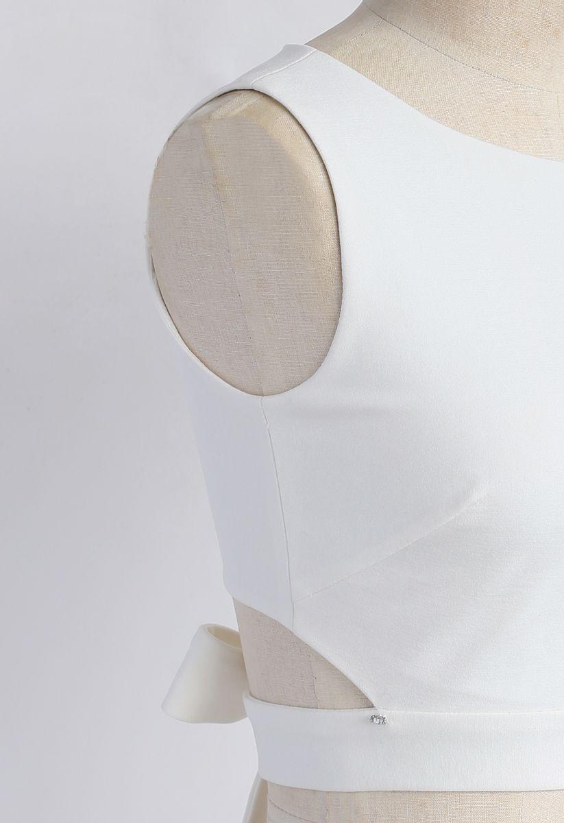 Ein Fan von Loops - leeres bauchloses Oberteil