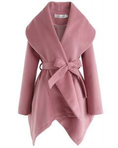 Prairie Rabato-Mantel in Pink