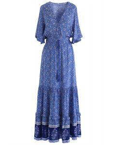 Letzte Nächte von Boho Maxi-Kleid