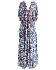 Geschichten von einem Traum Boho Maxi-Kleid