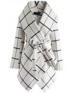 Prairie Grid Rabato - Gebrochener weißer Mantel